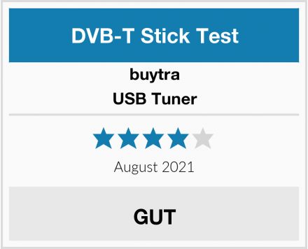 buytra USB Tuner Test