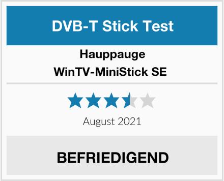 Hauppauge WinTV-MiniStick SE  Test