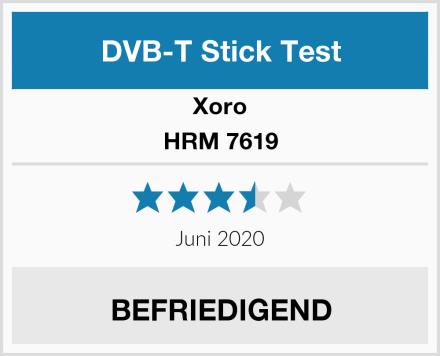 Xoro HRM 7619 Test