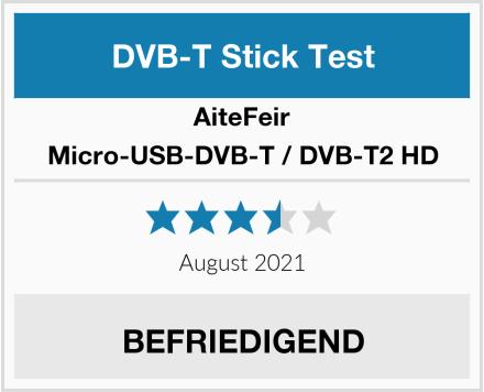 AiteFeir Micro-USB-DVB-T / DVB-T2 HD Test