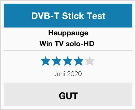 Hauppauge Win TV solo-HD  Test