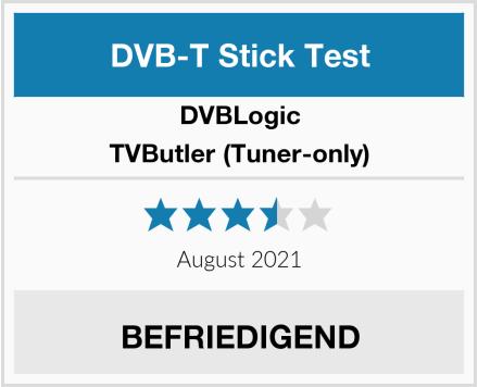 DVBLogic TVButler (Tuner-only) Test