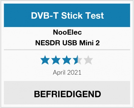 NooElec NESDR USB Mini 2 Test