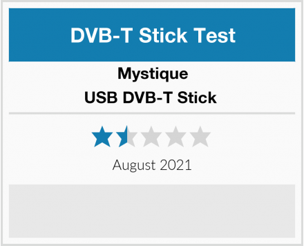 Mystique USB DVB-T Stick  Test