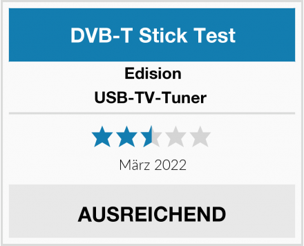 Edision USB-TV-Tuner  Test