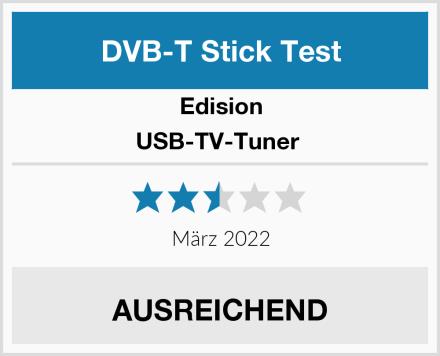 Edision USB-TV-Tuner  Test