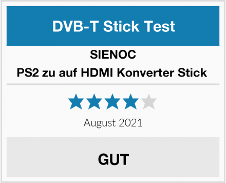 SIENOC PS2 zu auf HDMI Konverter Stick  Test