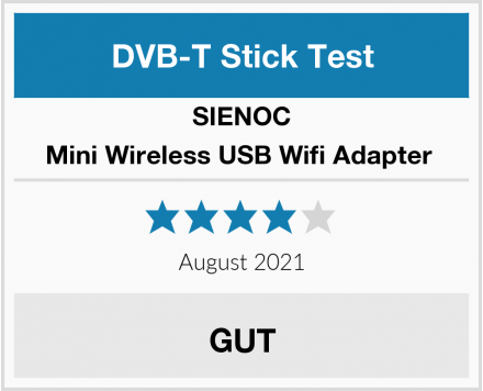 SIENOC Mini Wireless USB Wifi Adapter  Test