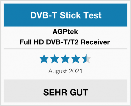 AGPtek Full HD DVB-T/T2 Receiver  Test