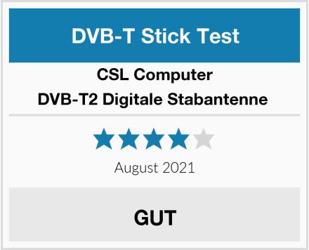 CSL-Computer DVB-T2 Digitale Stabantenne  Test
