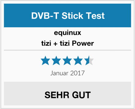 equinux tizi + tizi Power Test