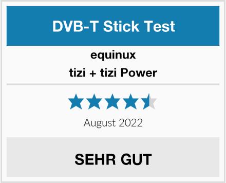 equinux tizi + tizi Power Test