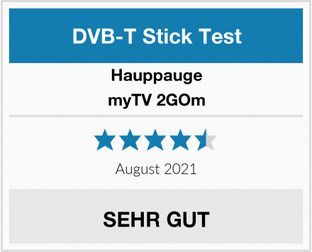 Hauppauge myTV 2GOm Test