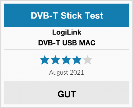 LogiLink DVB-T USB MAC Test