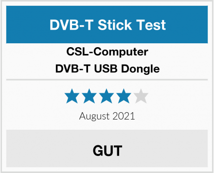 CSL-Computer DVB-T USB Dongle Test