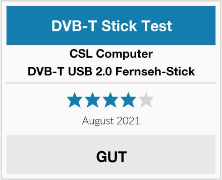 CSL-Computer DVB-T USB 2.0 Fernseh-Stick Test