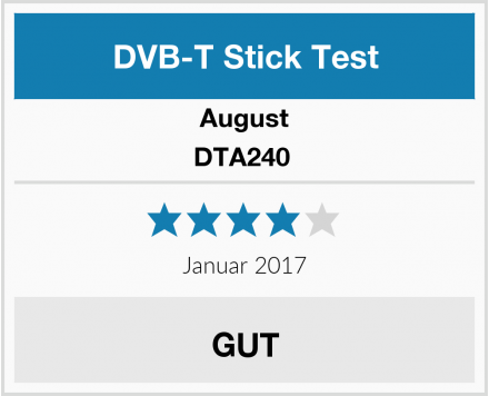 August DTA240  Test