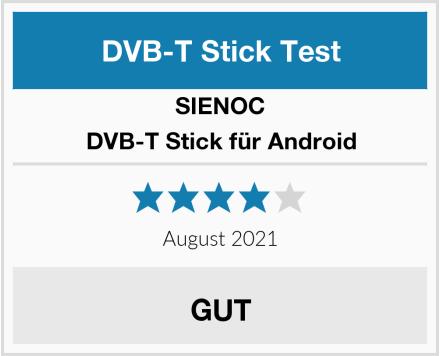 SIENOC DVB-T Stick für Android Test