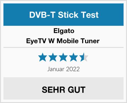 Elgato EyeTV W Mobile Tuner  Test