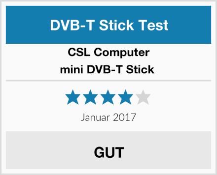 CSL-Computer mini DVB-T Stick  Test