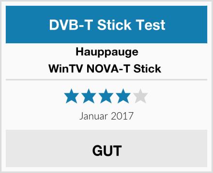 Hauppauge WinTV NOVA-T Stick  Test